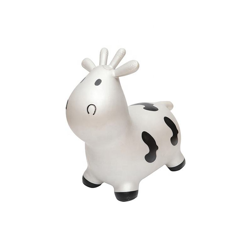 factory direct sales colorful cow jumping carton animal