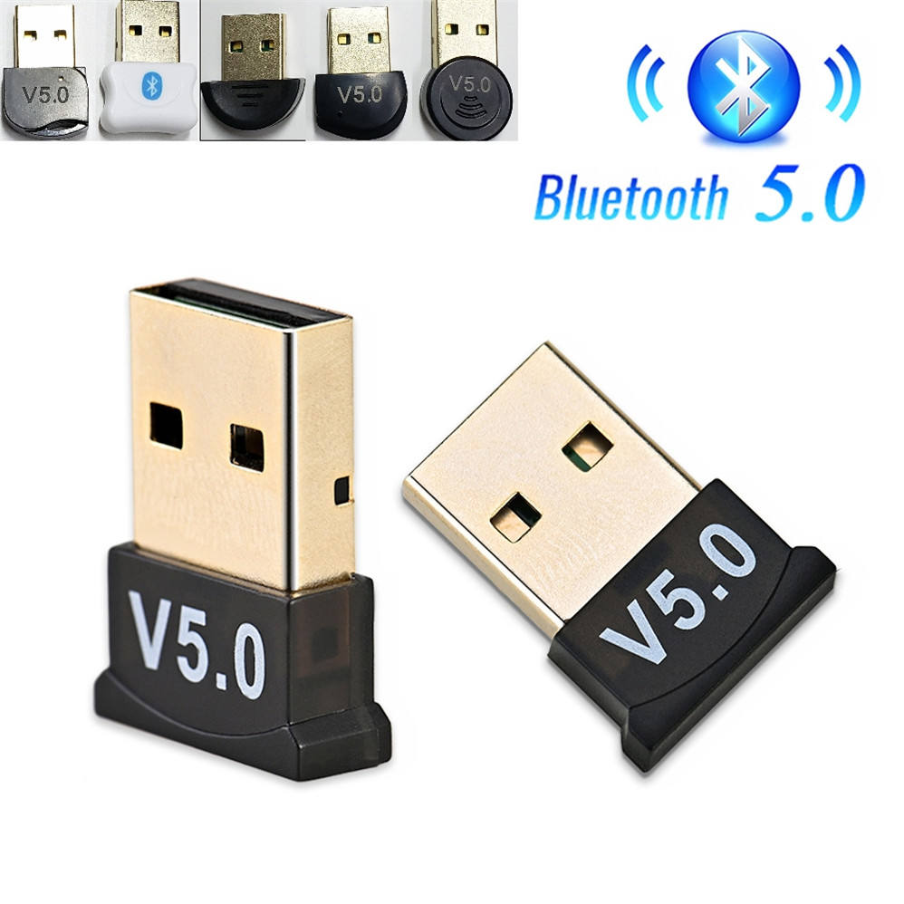 USB Bluetooth 5.0 Adapter Transmitter Bluetooth Receiver Audio V5.0 Bluetooth Dongle Wireless USB Adapter for Computer PC Laptop