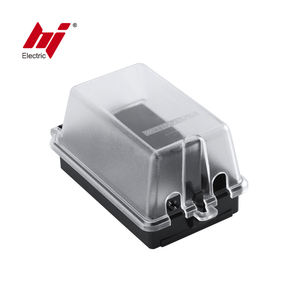 1-Gang Electrical Weatherproof Plastic Outlet Box Cover