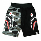 KS0053 High quality kids boys camouflage shorts with different print