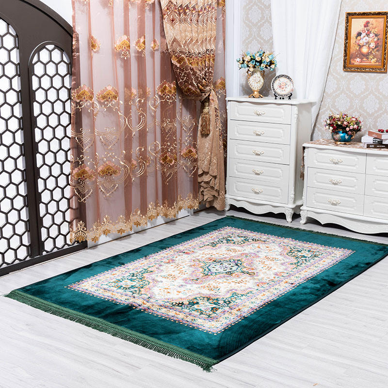 Factory Price Wholesale New Technology Prayer Muslim Arab Home Decoration Floor Carpets