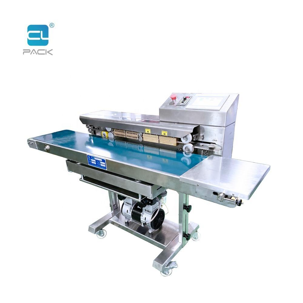 FRK-1420WD/SC Touch Panel Computer Controlled Protection Suit Packaging Continuous Sealing Machine Band Sealer CLPACK