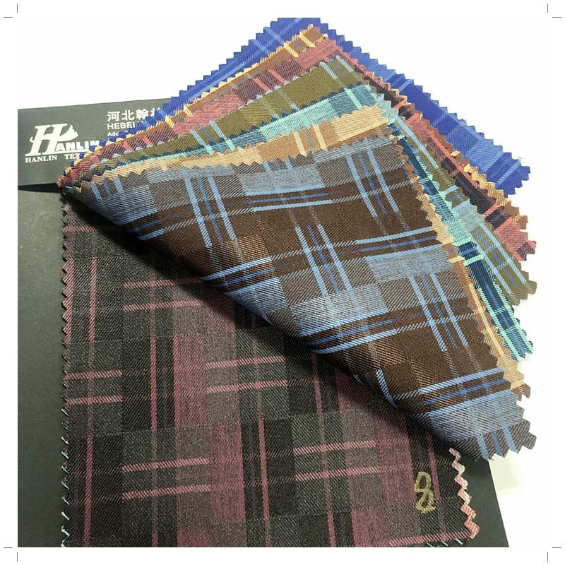 ready goods tr suit/check fabric cheap price to Nigeria/Africa/Niger woven poly rayon fabric tr suiting fabric men suit checks