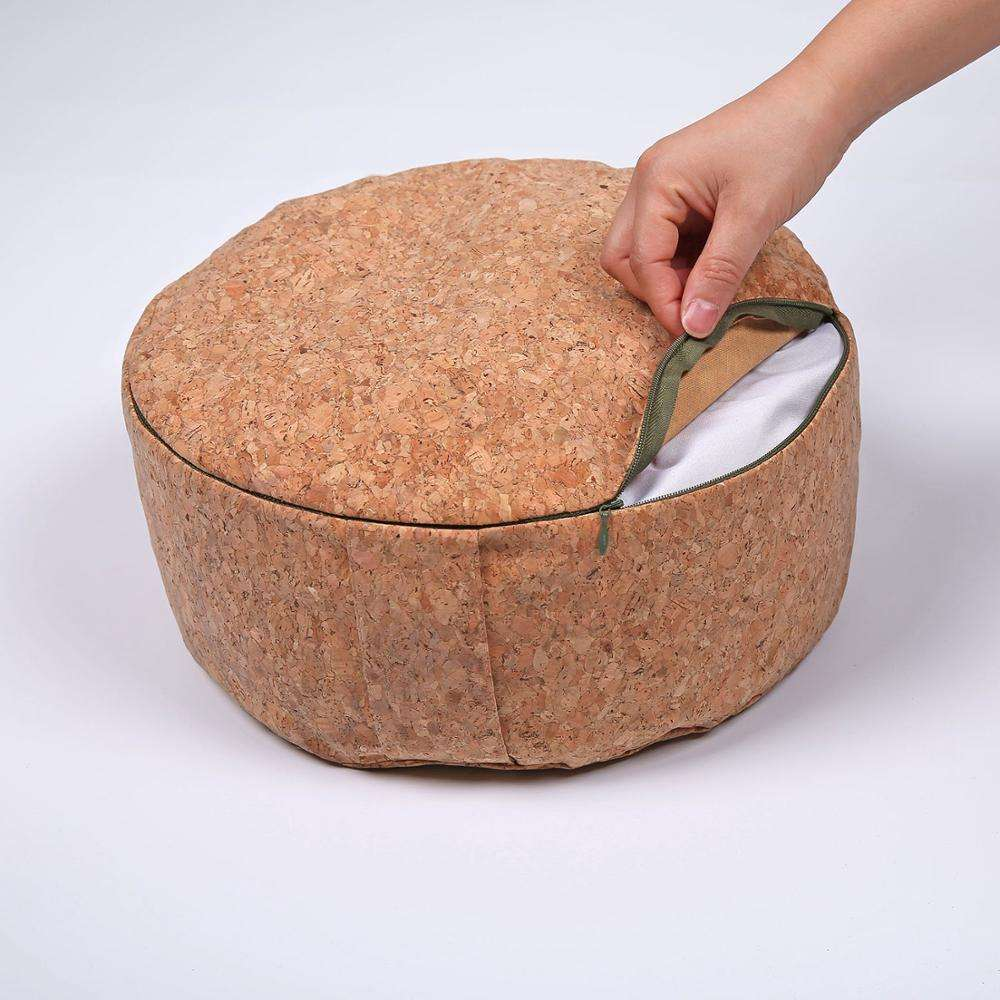 Factory Wholesale Round Cork meditation cushion outdoor cushions wholesale latest design mattress cushion