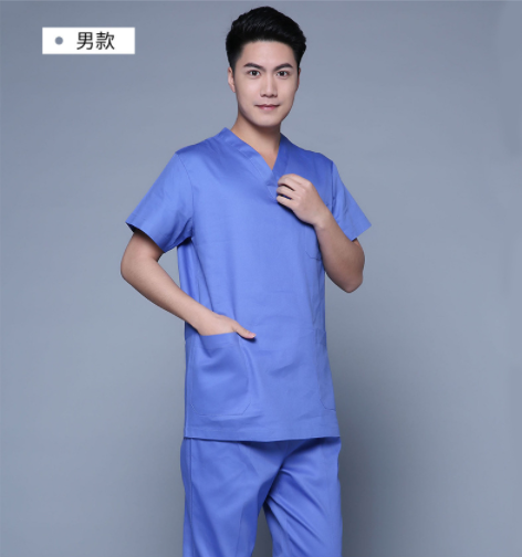 Hospital Workwear unisex Stylish Medical Scrubs Nursing Uniform