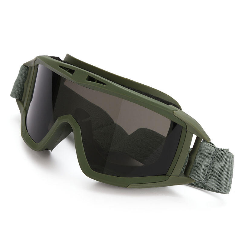 Outdoor equipment Army Fan Glasses Tactical Goggles Anti-impact Desert Goggles Special Forces Goggles