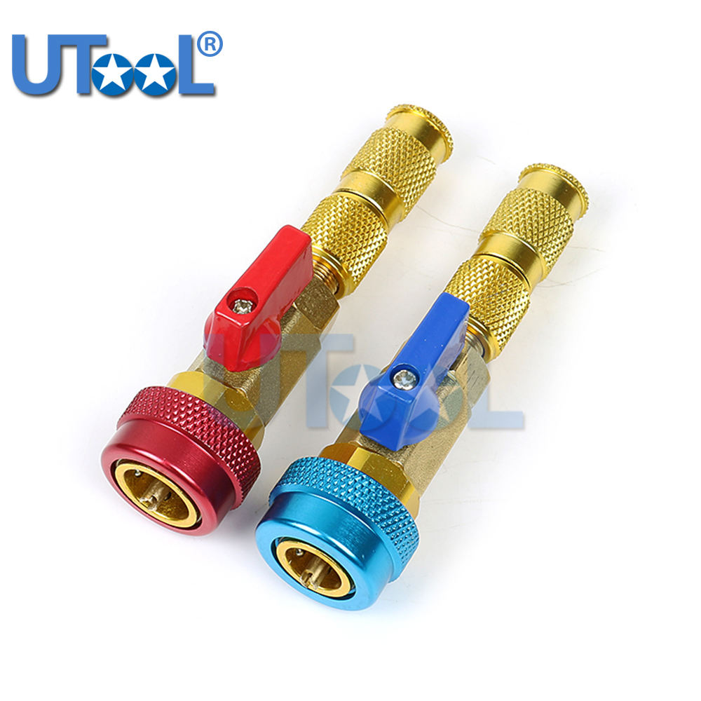 UTOOL R134A Valve Core Quick Remover Installer High Low Pressure Tool Air Conditioner