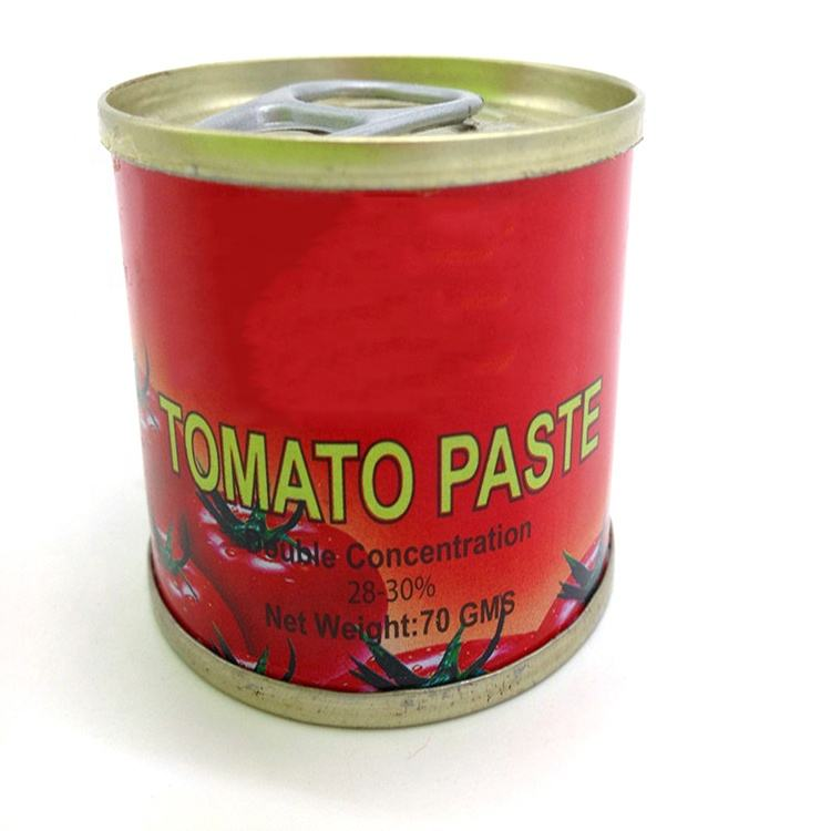 hot sauce China food Double Concentrate No Additives Delicious Easy Open canned Tomato Paste in sauce Tomato Paste