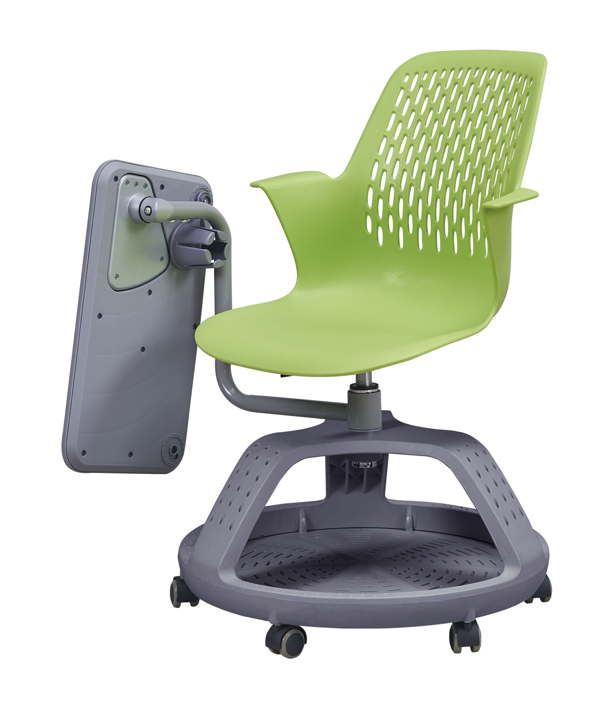 2019 New modern design school university chair with writing pad WX03+03D