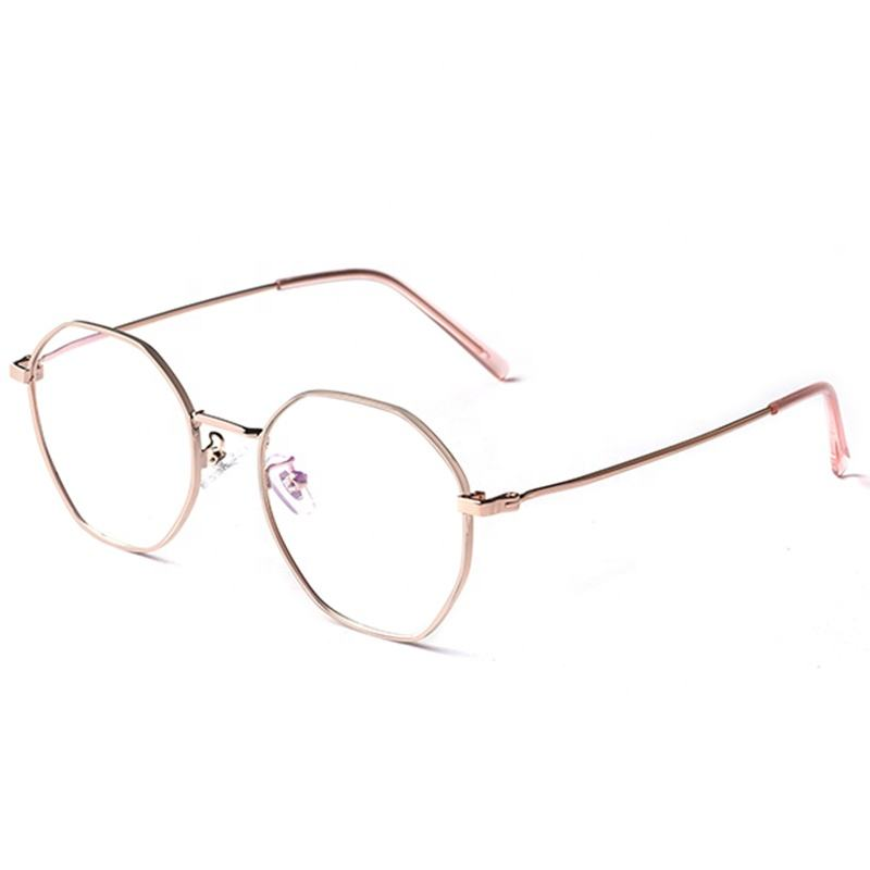 Fashion Models Eyewear Metal Optical Glasses Frame