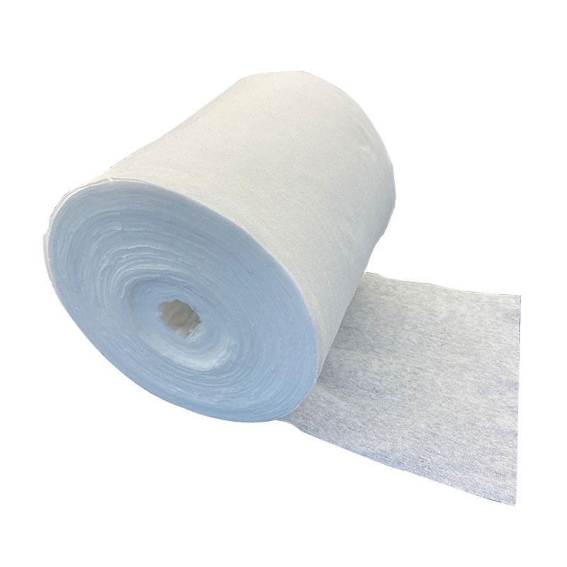 50%Wood Pulp Elastic Nonwoven Color Spunlace with low price