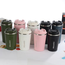 380ml 510ml Eco-friendly Double Walled Stainless Steel Travel Coffee Mug Vacuum Insulated Reusable Coffee Cup