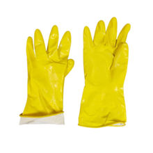 hot selling diamond grip pattern non-medical insulated production cotton latex coated glove