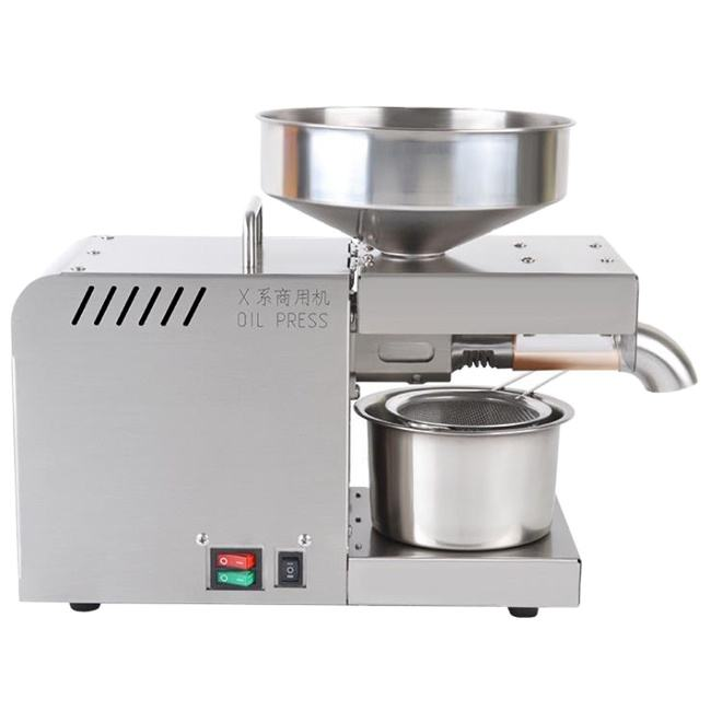 Home Use Coconut Processing Mini Oil Press Machine for Sunflower Sesame Seeds Oil Extraction