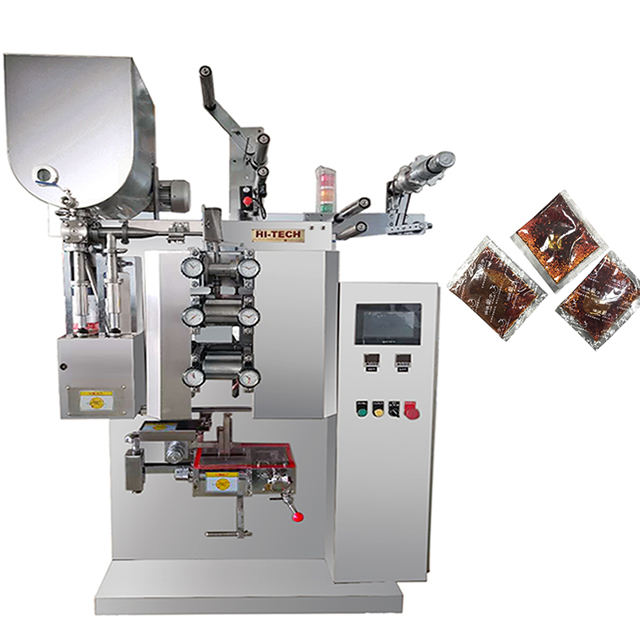 Ketchup and dipping sauce packing machine no leaking 3 and 4 side sealing bag