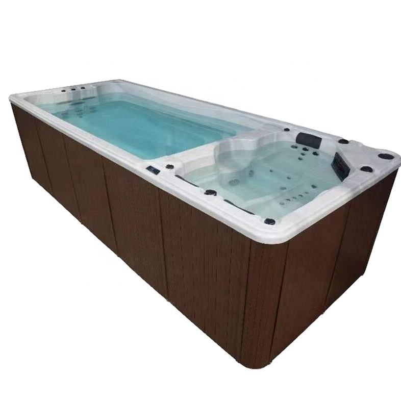 5 person balboa swim spa whirlpool acrylic pool swimming hot tub spa outdoor hydrotherapy pool