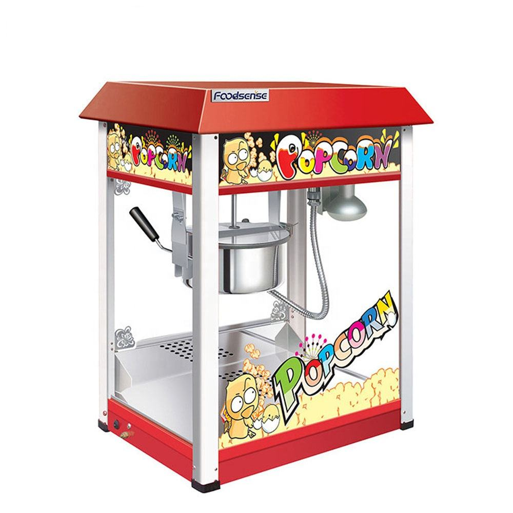 2019 China wholesale price cinema big electric automatic popcorn maker, industrial commercial popcorn machine