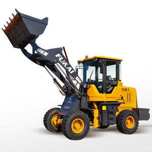 Mini front end wiellader jcb