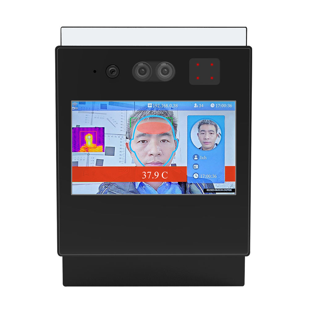 Hands Free Thermometer Face Recognition Ai Ir Thermal Imaging Camera IR Imager Access Control