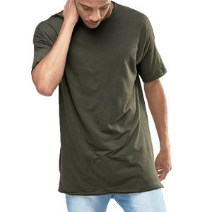 man army green high quality oversized men t shirt