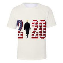 Basic Tee New Donald Trump Elects 3D Digital Printing Trend Election T-shirts Sublimation Tshirt Shirt Custom Football Tshirt