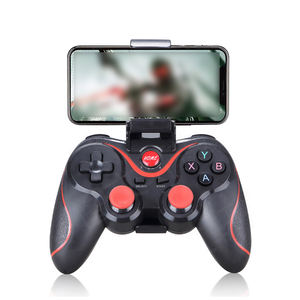 Wireless Android Gamepad T3 Wireless Joystick PC Game Controller BT4.0 Joystick For Mobile Phone Tablet TV Box Holder