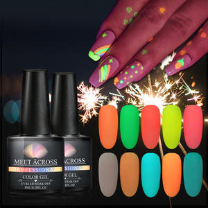 Gratis Monsters Beauty Producten Lichtgevende Uv Polish Poetsmiddelen Glow In The Dark Nail Gel