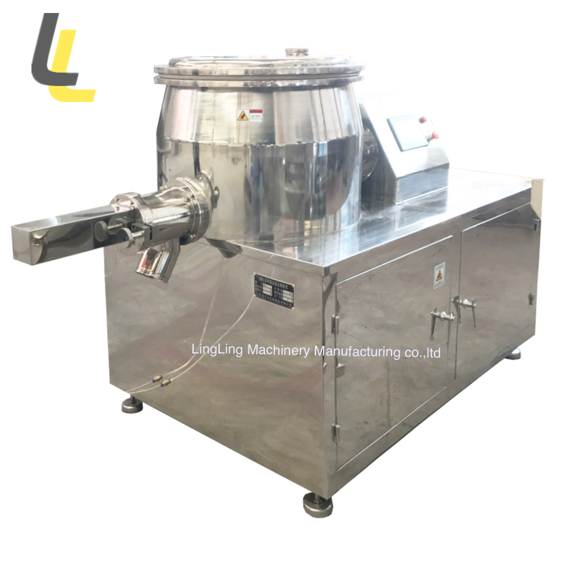 GHL series high shear mixer granulator wet mixing fertilizer powder granulation machine