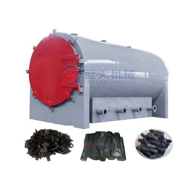 Charcoal furnace machine/wood carbonization furnace/sawdust horizontal carbonization furnace