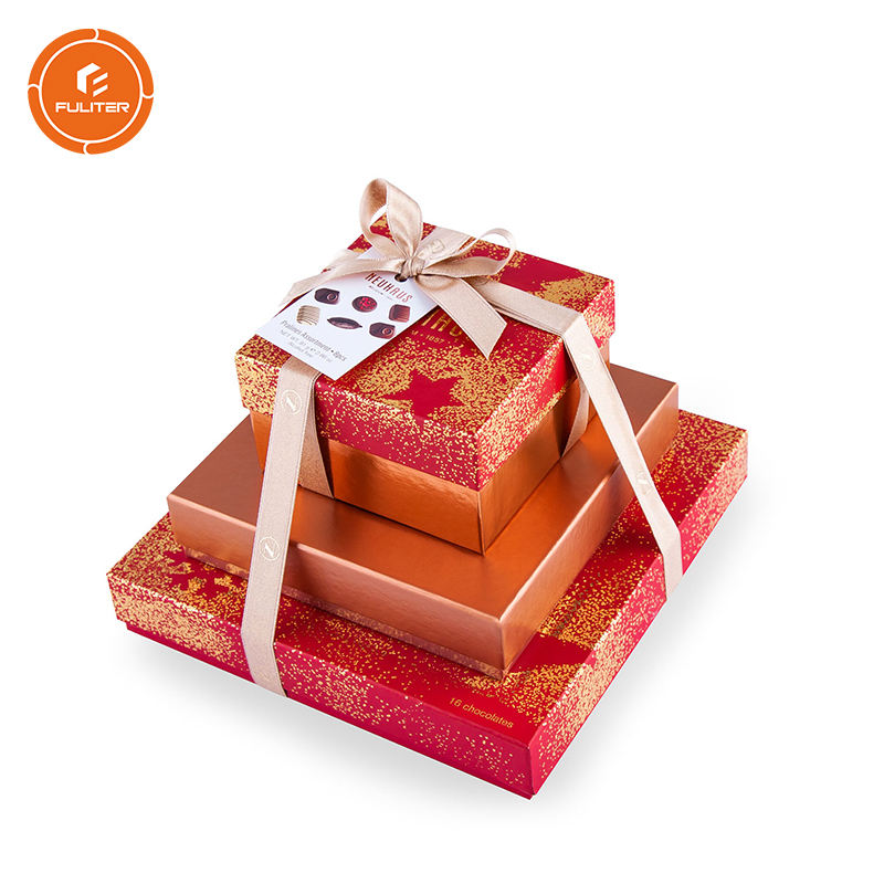 Custom Wedding favors with ribbon wholesale food tower Gift set boxes