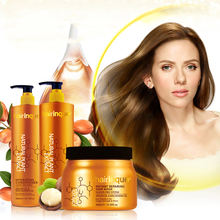 100ml 300ml 500ml salon sulfate-free nourishing natural hair sulphate free shampoo and conditioner with argan oil macadamia