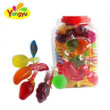 Fruit shaped assorted fruit jelly candy