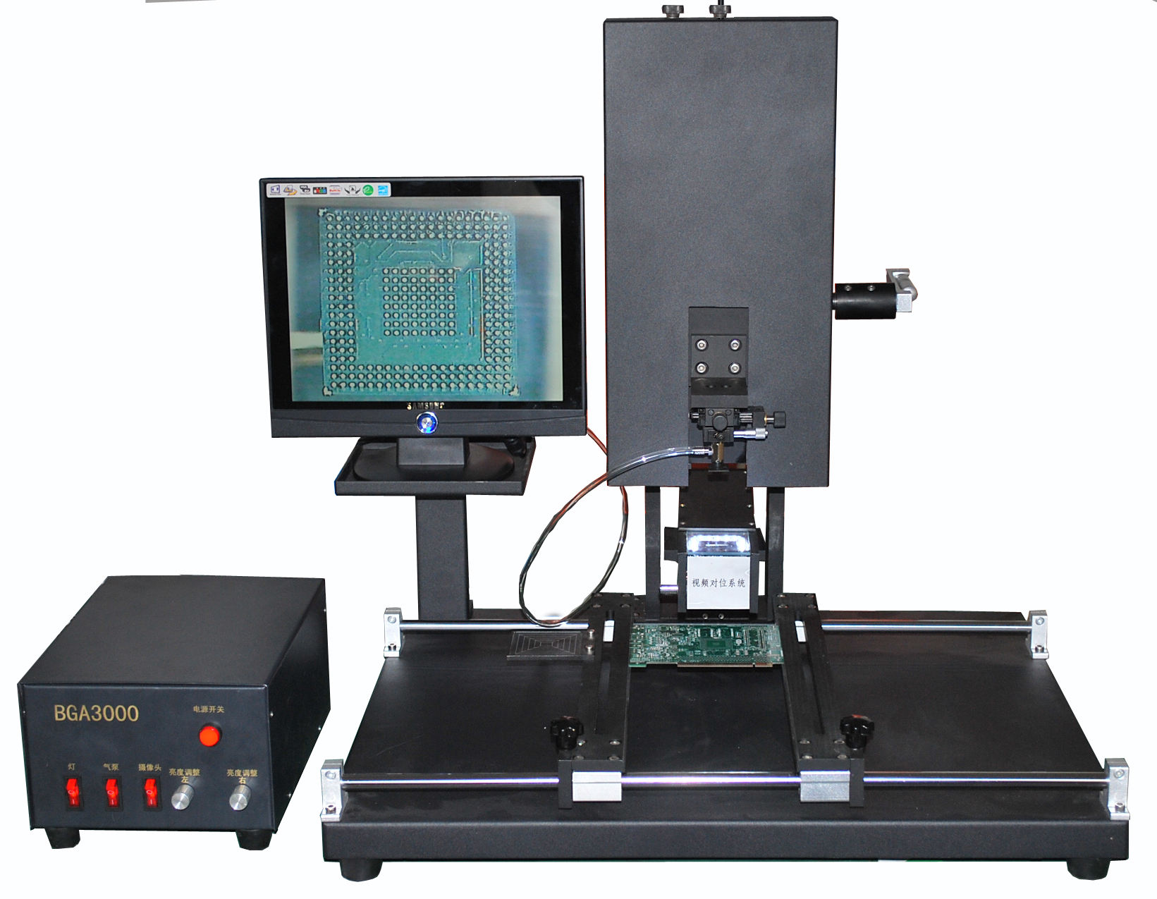 Bga hohe präzision montagesystem/bga bestückung maschine/<span class=keywords><strong>Computer</strong></span>-<span class=keywords><strong>Hardware</strong></span> montage bga3000( Taschenlampe)