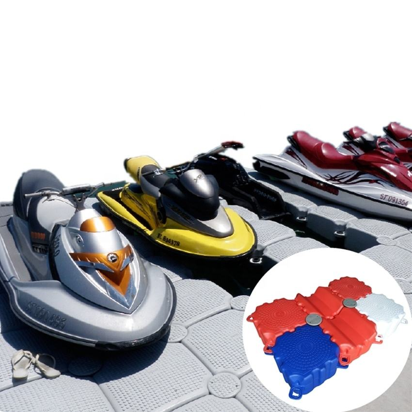 extreme durability floating dock jetski for resort