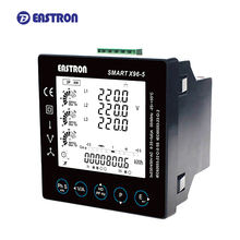 Smart X96-5F~J Three Phase Multifunction Measurements RS485 Modbus LCD Smart Panel Meter Digital
