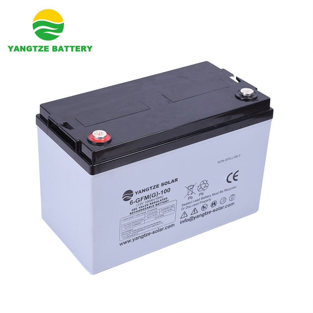 Yangtze Wholesale solar sealed lead acid 12v 100ah battery
