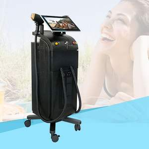 2020 4K display 3D Alma Soprano Ice Titanium Platinum Xl laser diode 808nm hair removal machine permanently 755 808 1064