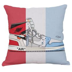 Sneaker Pillow Case Soft Sofa Pillow Cases at Size 17.3