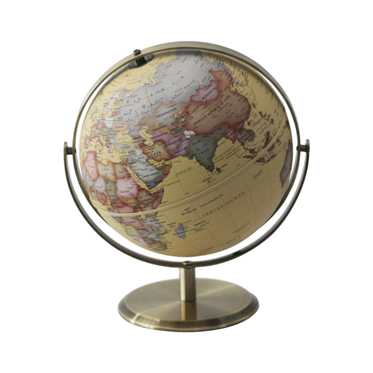 Custom Map Portable Mini Plastic Globe For Geography Education