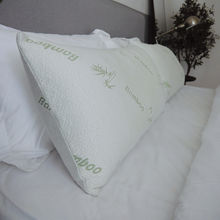 Breathable Bamboo Fiber Pillowcase Filled With Shredded Memory Foam Pillows