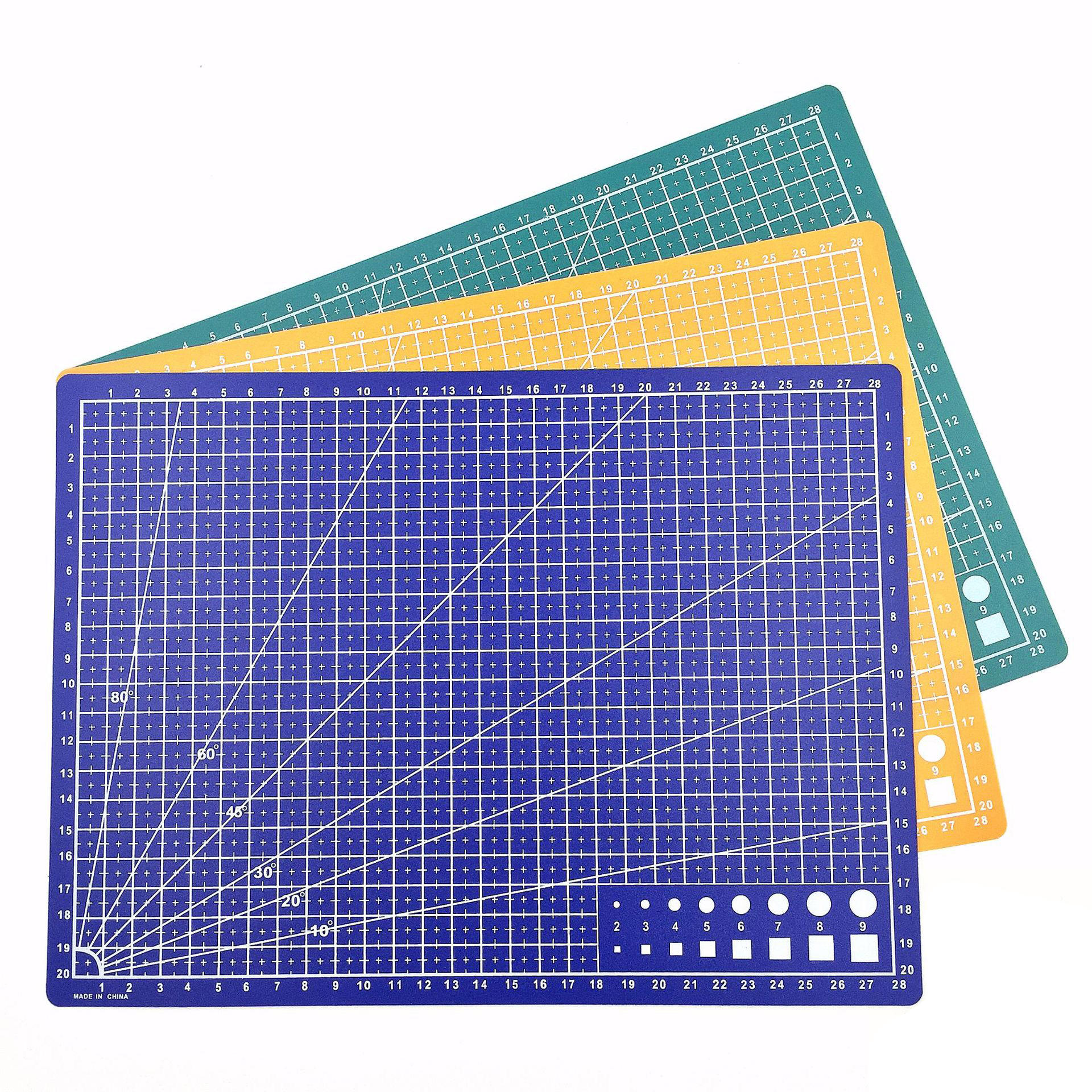a0 self healing large pvc silicone rubber scrapbook flexible plastic cutting mat