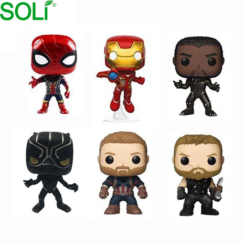 New hot selling toys action figures custom anime action figure marvel toys