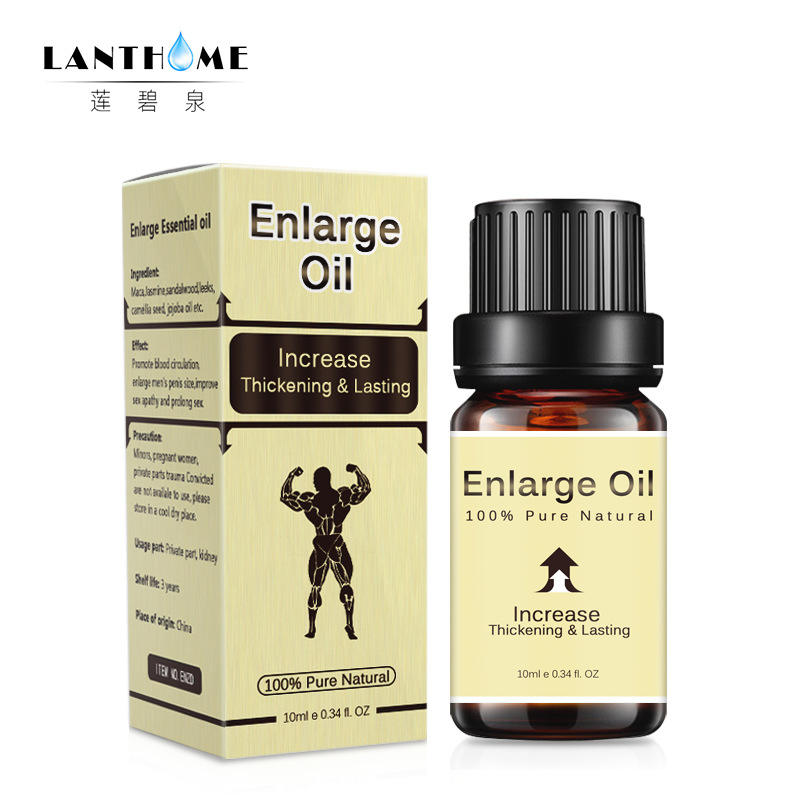 LANTHOME MK Adult Products Men's Erotic Massage Essential Oil Body Care Maintenance Essential Oil 10ml