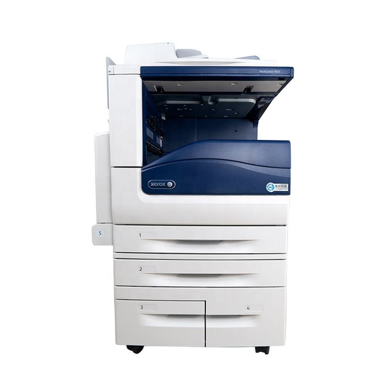 A3 A4 Used Color Printer Copiers Remanufactured Laser Multifunction PhotoCopier Fit for Xerox 7835 7845 7855