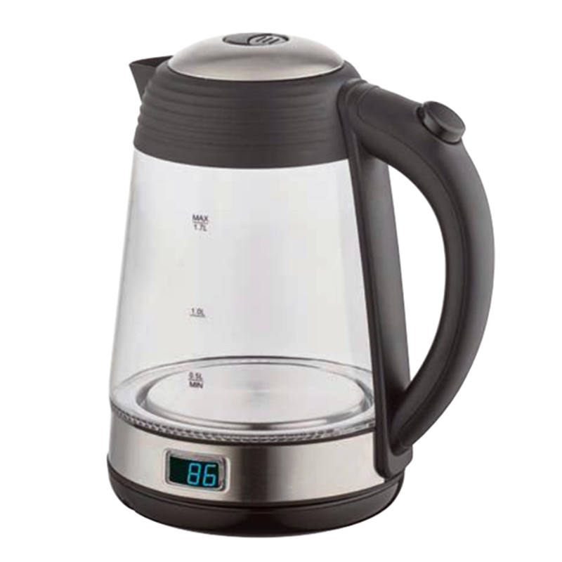 electric glass kettle with temperature adjust