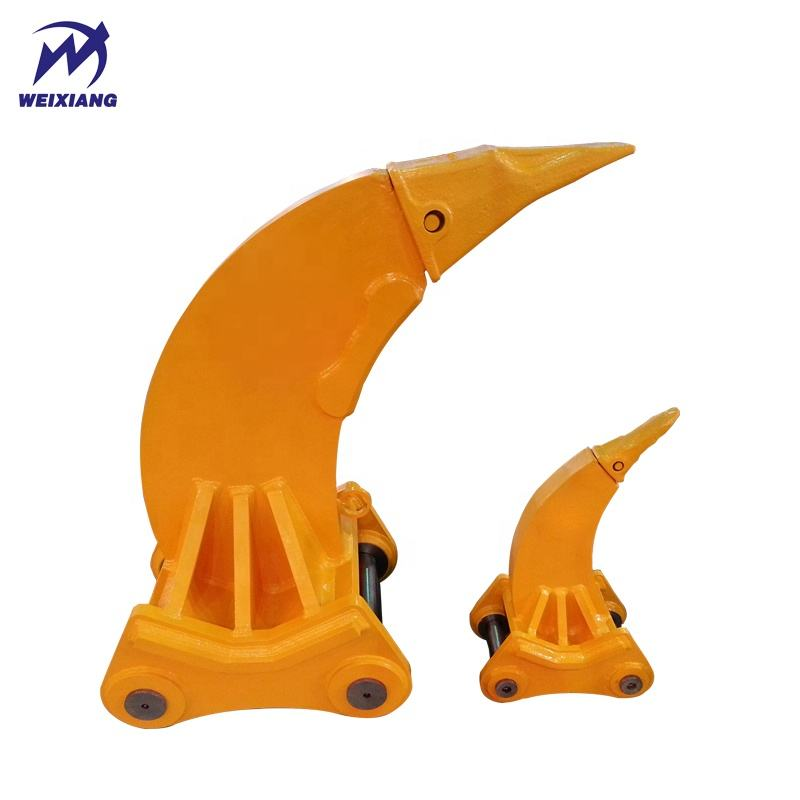 weixiang high quality and reliable price PC220 ripper excavator attachments