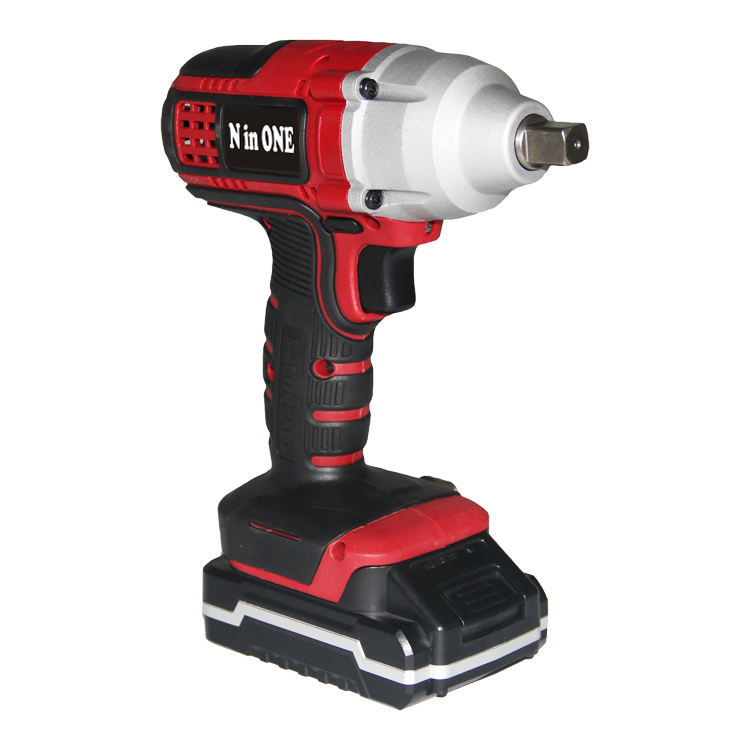 N in UN 18V 1/2 pollici cordless lug nut impact wrench