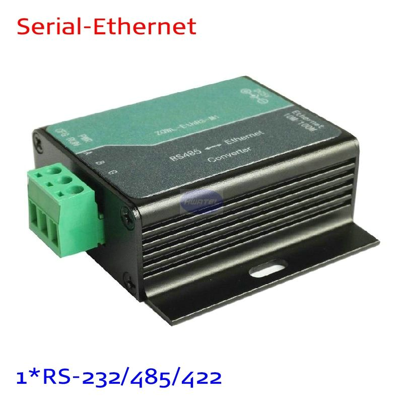 1 Port RS-485 Seri Server Rj45 Konverter RS232 untuk Nports5130 5110 5150 Kompatibel
