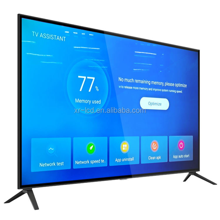 Factory Television 55 65 75 85 100 Inch Smart Tv 2K/ 4 18k UHd Android <span class=keywords><strong>Led</strong></span> Tv Panel