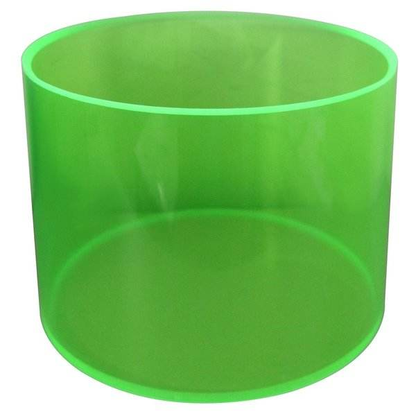 Wholesale Custom Acrylic Drum Shell Seamless Plastic Snare Drum Shell for Drum Body